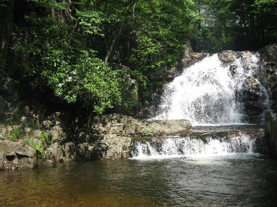 Hickory Run State Park : Hawk Falls