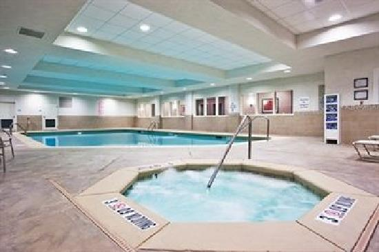 Holiday Inn Express Augusta North Indoor Pool Area
