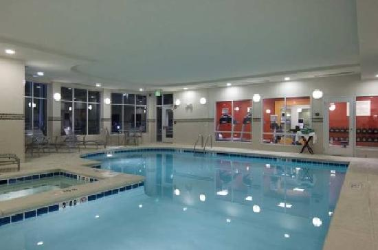 Hilton Garden Inn Augusta Indoor Pool Area