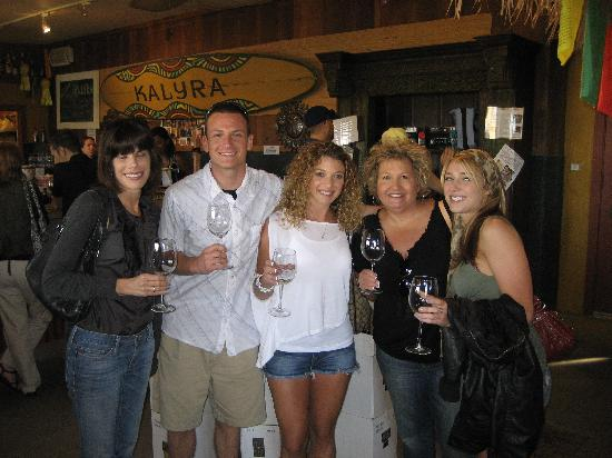 Wine Edventures Wine Tour: Our first stop at Kaylra winery