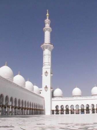 Abu Dabi, Emiratos Árabes Unidos: Sheikh Zayed Moschee