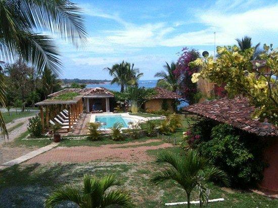 Hotel Villa Romana: View from my room!