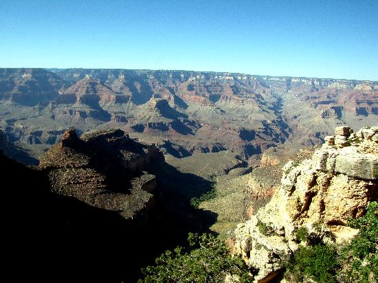 Grand Adventures Tours: One of our views of the Canyon.