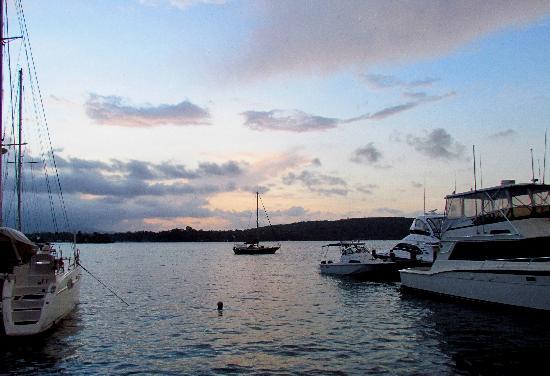 Hotel Marina & Yacht Club Nana Juana: Atardecer