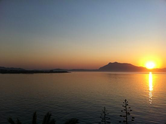 Datca, Τουρκία: Sunrise from hotel balcony