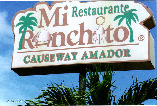 Mi Ranchito sign