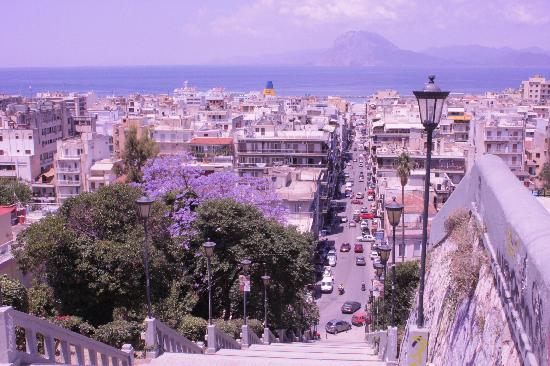 Patras, Greece: View over the nity
