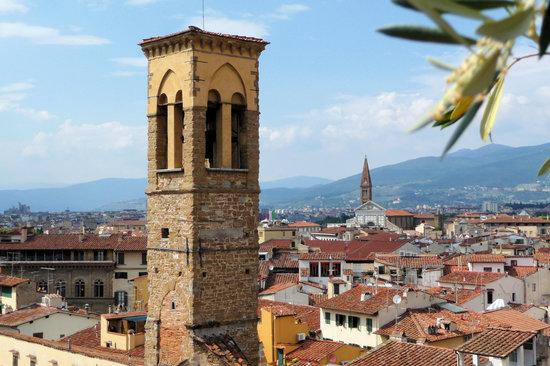 Antica Torre di Via Tornabuoni : Blick von der Dachterrasse