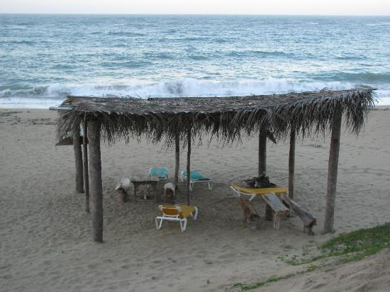 Kiosco Beach: Beach shelter