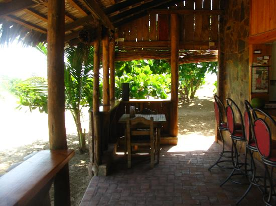 Kiosco Beach: Restaurant and bar