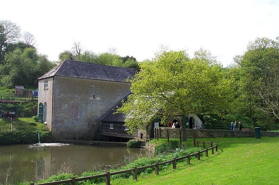 Claverton, UK: The pump house
