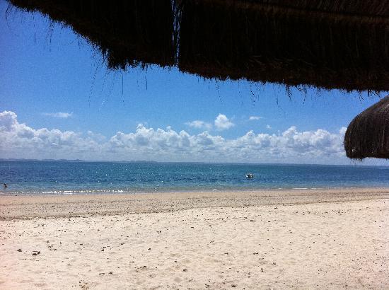 Pousada Nel Blu: Praia em frente a pousada