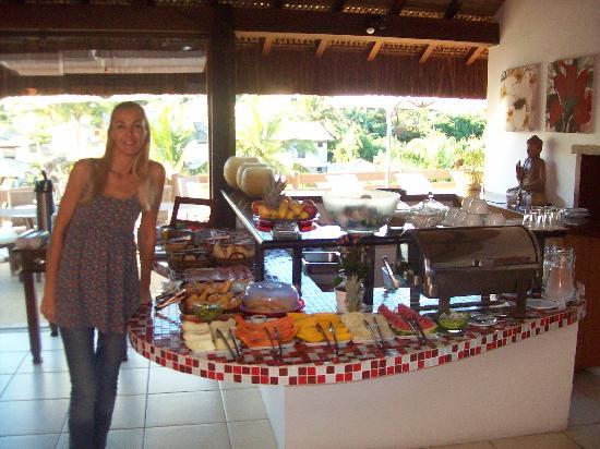 Azeda Boutique Hotel: El desayuno...
