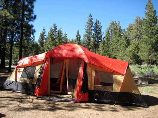 Fawnskin, Californien: Large Campsite