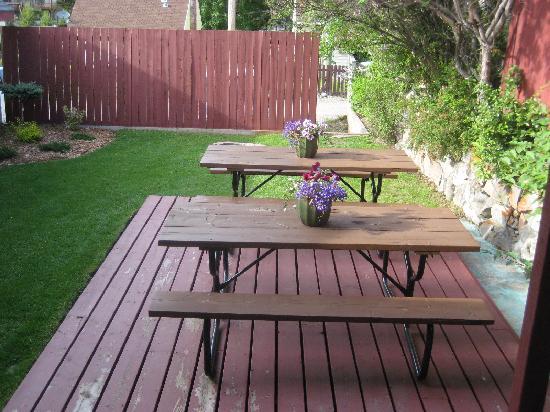 804 Miette Guest House: backyard