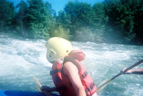 Kokopelli River Guides - Day Trips: White water...it was hard to get action pics cause we were paddling