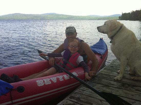 Hunter Cove Cabins on Rangeley Lake: fun on the water