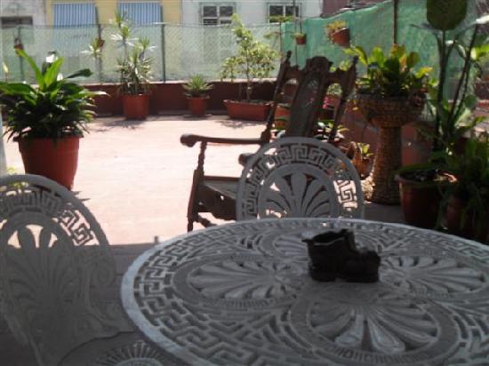 Casa Colonial Yadilis y Joel: terraza
