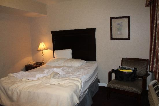Cocca's Inns & Suites Albany Airport: Just the basics.