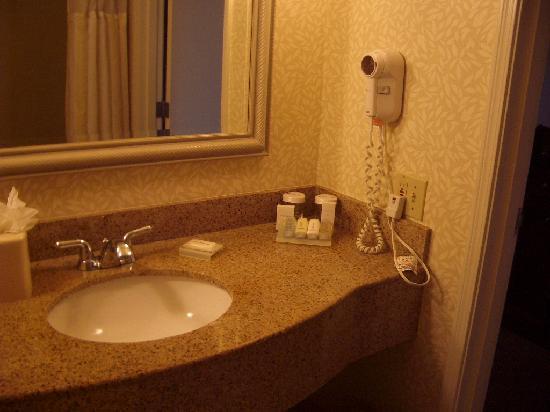 Hilton Garden Inn Oakland/San Leandro: bathroom