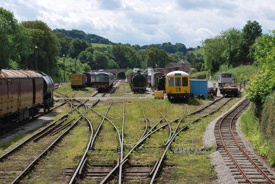 Ecclesbourne Valley Railway: Wirksworth stock yard