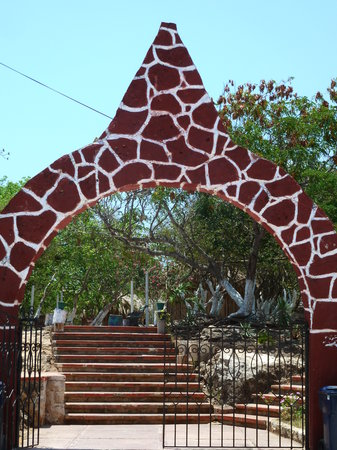 Isla Mujeres, Mexique : Eingang Park
