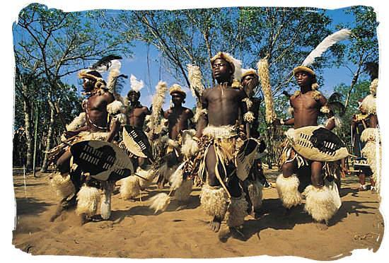 Sylvan Grove Guest House: Zulu Warriors