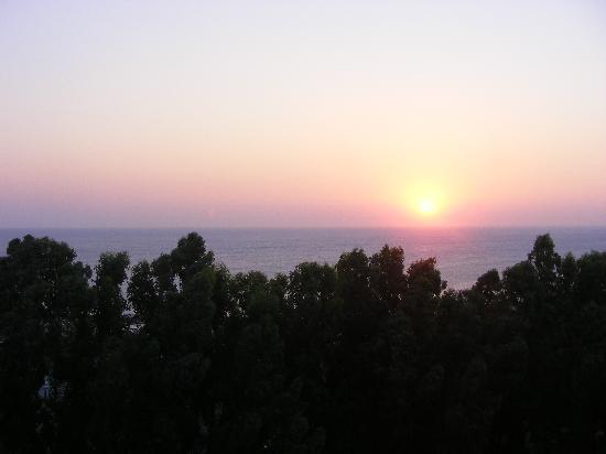 Kallithea, Greece: View from the balkon