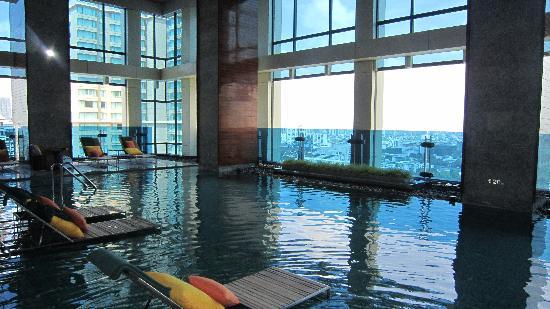 Indoor Swimming Pool Picture Of Renaissance Bangkok