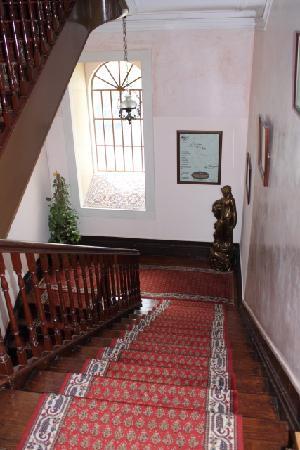 Alegre Hotel: Escalier intérieur