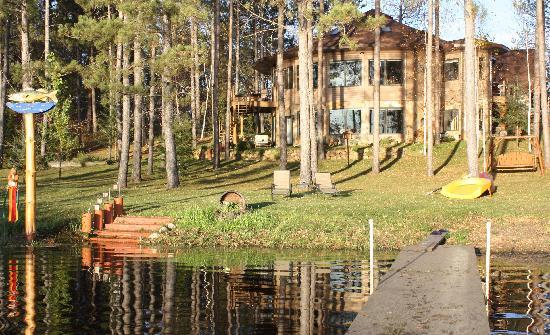 My Lake Home Bed & Breakfast and Tree House : The house