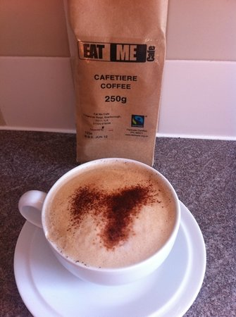 Eat Me Cafe : now coffee to take home