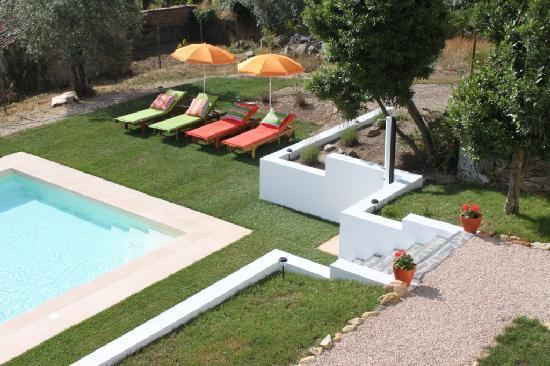 Casa nas Serras - Swimming pool area