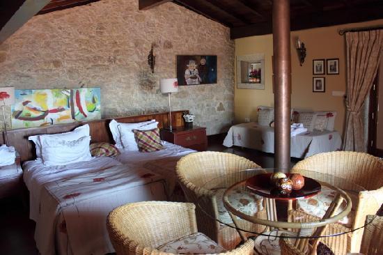 Quinta do Monteverde: chambre
