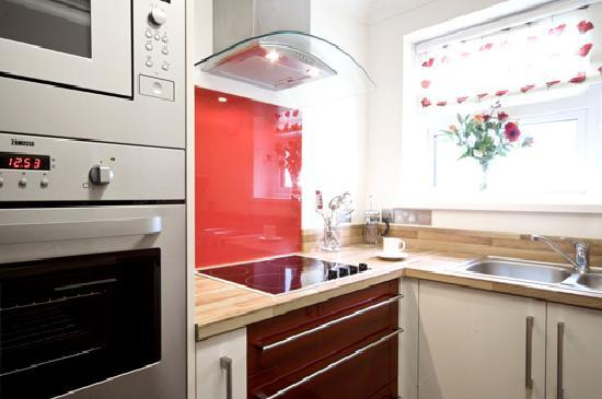 The Corbyn Apartments: Modern Kitchen