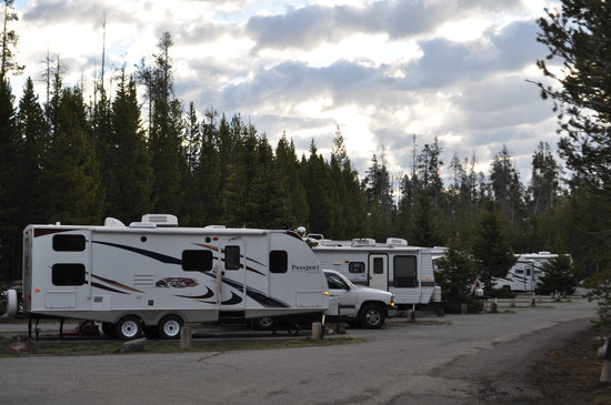 Fishing bridge rv park updated 2018 campground reviews for Fishing bridge rv park