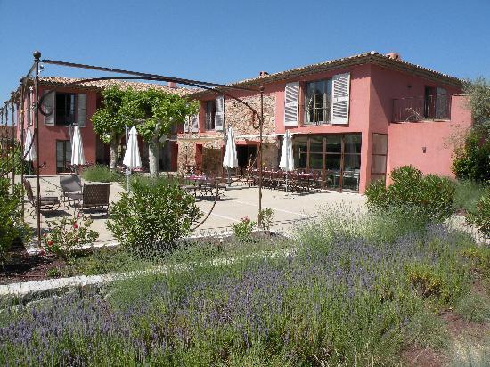 La Bastide du Clos des Roses : la terrasse du restaurant