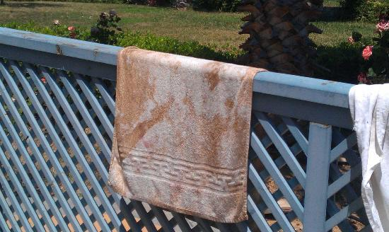 Ilatia Village: The kitchen cleaning towel