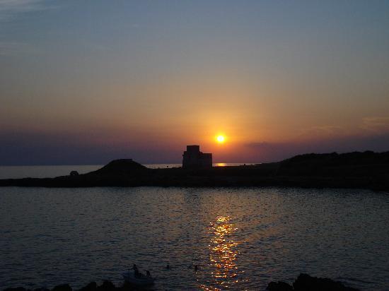 Foto del mare di Taranto