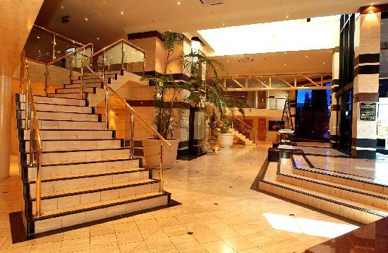 Lobby at the 3-star Peermont Metcourt Suites at Emperors Palace, Johannesburg, Gauteng
