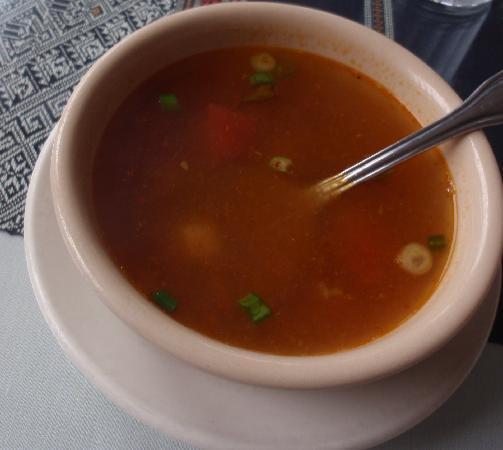 Mekong Thai: Hot and sour chili lemongrass soup