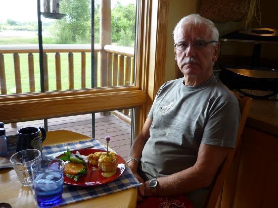Blue Heron Inn: le petit dejeuner