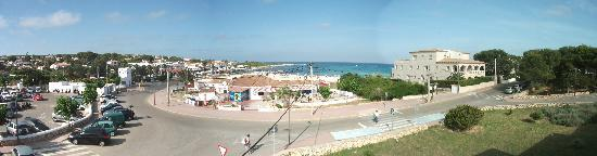 Hotel Xaloc Playa: panaramic view from the hotel