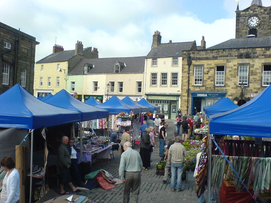 Алнвик, UK: Alnwick Market