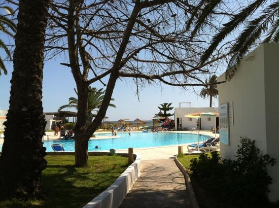 Thalassa Sousse Resort & Aquapark : the small pool near the Beach