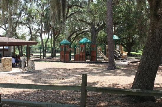 Playground - Picture of Fort Christmas Historical Park, Christmas ...