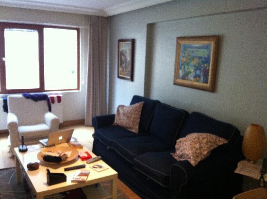living room of Nisantasi Flats