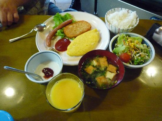 Pension Picnic: 朝食は和食、洋食を個人別で選択