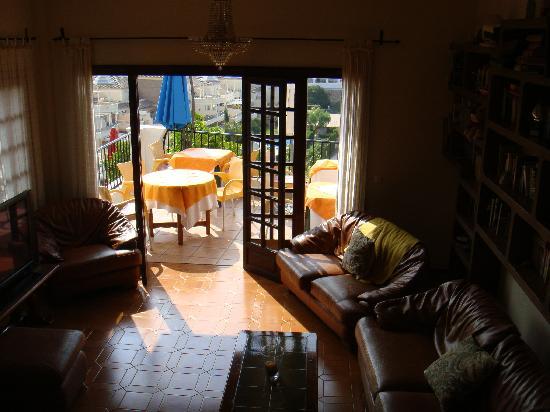 Hostal Casa Mercedes: Zimmer mit Blick auf das Meer