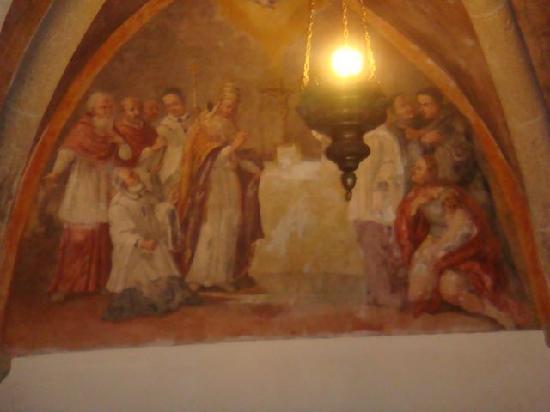 Capranica Prenestina, Italy: affreschi